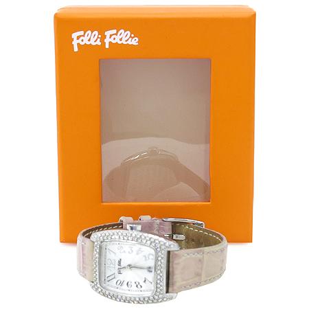 FOLLI FOLLI(폴리폴리) 베젤 크리스탈 여성용 시계 [강남본점]