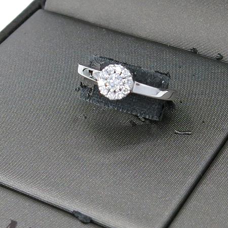 DAMIANI(다미아니) 18K 화이트 골드 크리스탈 컬렉션 다이아 반지 [강남본점] 이미지2 - 고이비토 중고명품