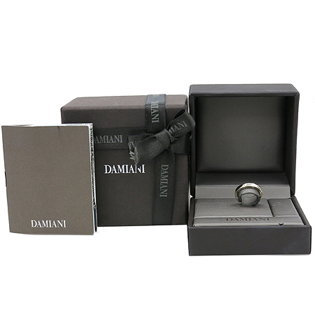 DAMIANI(다미아니) 디사이드(D-SIDE) 18K 화이트골드 1포인트 다이아 반지 [강남본점]