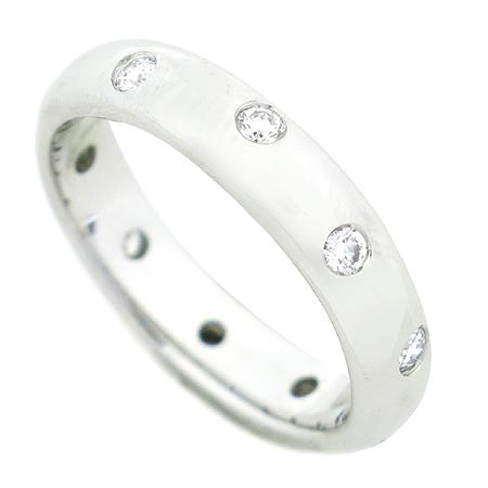 Tiffany(티파니) PT950(플래티늄골드) ETOILE(에또알) 10포인트 브릴리언트 다이아 밴드 링 반지 - 9.5호 [압구정매장]