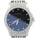 Gucci(구찌) YA126509 G-TIMELESS 베젤 다이아 스틸 여성용 시계 [대전본점]