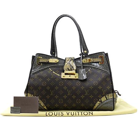Louis Vuitton(루이비통) Exotique(이그조티크) Monogramissime(모노그래미시메) 파이손+엘리게이터 트리밍 쇼퍼 GM 숄더백 [대구반월당본점]