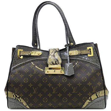 Louis Vuitton(루이비통) Exotique(이그조티크) Monogramissime(모노그래미시메) 파이손+엘리게이터 트리밍 쇼퍼 GM 숄더백 [대구반월당본점] 이미지2 - 고이비토 중고명품