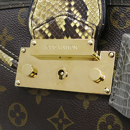 Louis Vuitton(루이비통) Exotique(이그조티크) Monogramissime(모노그래미시메) 파이손+엘리게이터 트리밍 쇼퍼 GM 숄더백 [대구반월당본점] 이미지4 - 고이비토 중고명품