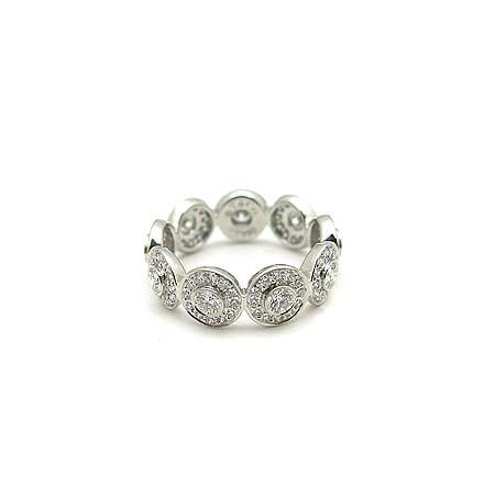 Tiffany(티파니) PT950(플래티늄) 다이아몬드 서클랫 밴드링  반지-9호 [동대문점] 이미지4 - 고이비토 중고명품