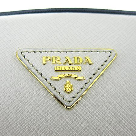 Prada(프라다) BL0852 삼각로고 장식 화이트 레더 볼링 토트백 [동대문점] 이미지4 - 고이비토 중고명품