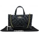 Chanel(샤넬) 2.55 빈티지 블랙 레더 2WAY [강남본점]