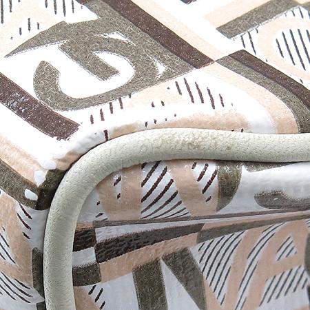 Ferragamo(페라가모) 22 A217 이니셜 로고 패턴 PVC 파우치 숄더백 이미지4 - 고이비토 중고명품