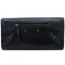 Balenciaga(발렌시아가) 253038 블랙 레더 클래식 컨티넨탈 장지갑 [부산센텀본점]