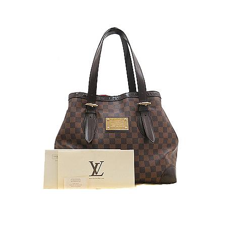 Louis Vuitton(루이비통) N51204 다미에 에벤 캔버스 햄스테드 MM 숄더백[명동매장]