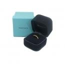 Tiffany(티파니) 18K 옐로우 골드 밀그레인 3MM 반지-6호  [대구동성로점]