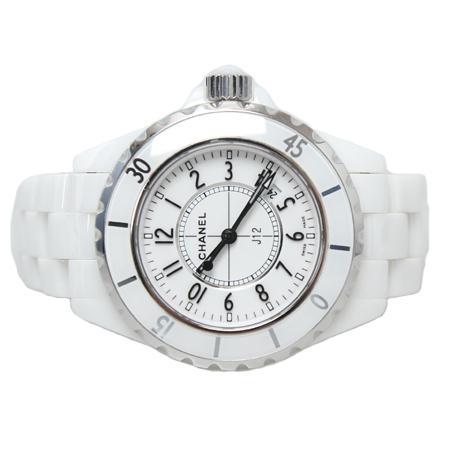 Chanel(샤넬) H0968 J12 쿼츠 데이트 화이트 세라믹 여성용 시계[광주롯데점] 이미지2 - 고이비토 중고명품