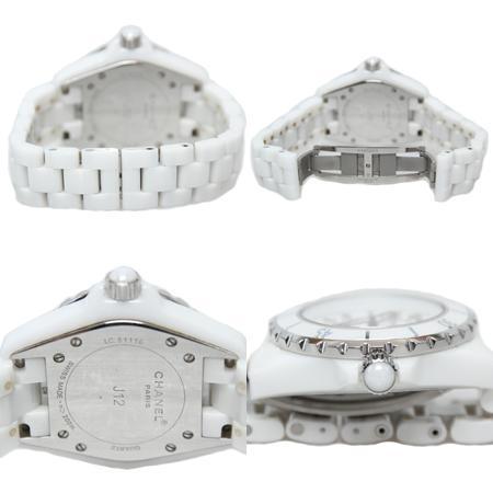 Chanel(샤넬) H0968 J12 쿼츠 데이트 화이트 세라믹 여성용 시계[광주롯데점] 이미지5 - 고이비토 중고명품
