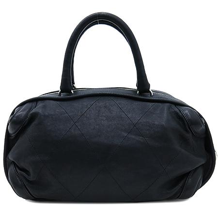 Chanel(샤넬) 블랙 컬러 레더 볼링 토트백 [인천점] 이미지2 - 고이비토 중고명품