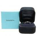 Tiffany(티파니) 750 18K 화이트골드 1포인트 다이아 반지 - 9 호 [강남본점]