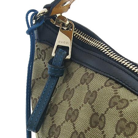 Gucci(구찌) 282330 GG 로고 자가드 블랙 레더 숄더백 [강남본점] 이미지4 - 고이비토 중고명품