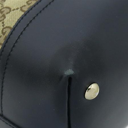 Gucci(구찌) 282330 GG 로고 자가드 블랙 레더 숄더백 [강남본점] 이미지5 - 고이비토 중고명품