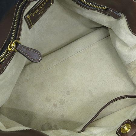 Prada(프라다) BN1902 브라운 소프트카프 레더 2WAY [강남본점] 이미지6 - 고이비토 중고명품