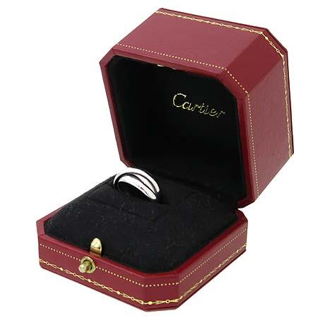Cartier(까르띠에) 18K 화이트골드 트리니티 3링 반지 - 9호 [대구반월당본점] 이미지2 - 고이비토 중고명품