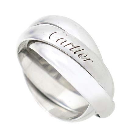 Cartier(까르띠에) 18K 화이트골드 트리니티 3링 반지 - 9호 [대구반월당본점] 이미지3 - 고이비토 중고명품