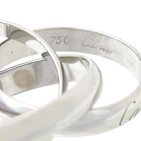 Cartier(까르띠에) 18K 화이트골드 트리니티 3링 반지 - 9호 [대구반월당본점] 이미지5 - 고이비토 중고명품