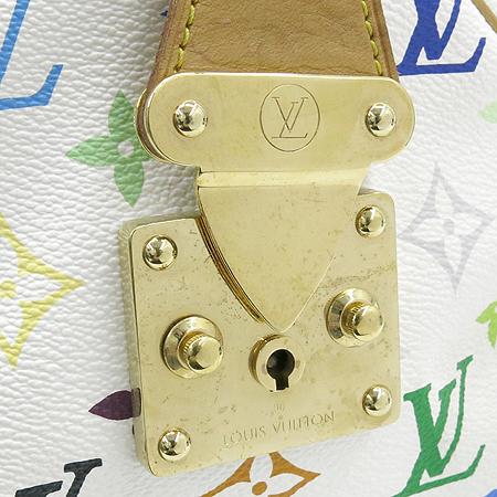Louis Vuitton(루이비통) M92643 모노그램 멀티 화이트 스피디30 토트백 [강남본점] 이미지3 - 고이비토 중고명품