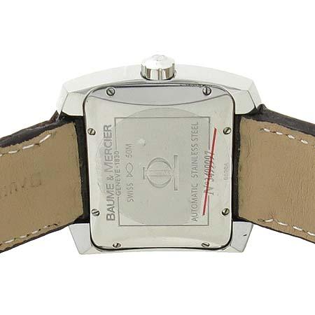 Baume&Mercier(보메메르시에) 8254 Hampton Spirit(햄턴 스피릿) 오토매틱 가죽 밴드 남성용 시계 [부산서면롯데점] 이미지5 - 고이비토 중고명품