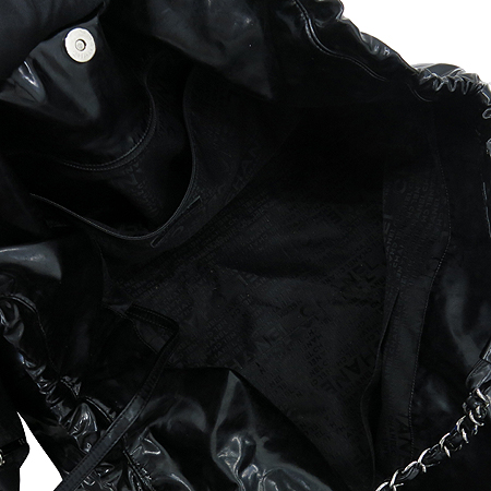 Chanel(샤넬) 페이던트 블랙 로고 스티치 카바스 은장로고 체인 숄더백 + 보조 파우치 [강남본점] 이미지5 - 고이비토 중고명품