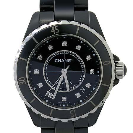 Chanel(샤넬) H1626 J12 블랙 세라믹 12포인트 다이아 38mm 남성용 시계  [인천점] 이미지2 - 고이비토 중고명품
