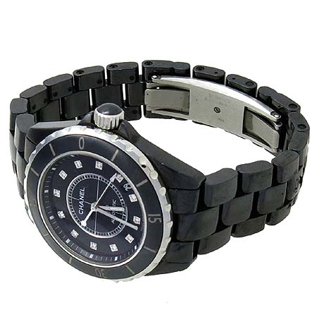 Chanel(샤넬) H1626 J12 블랙 세라믹 12포인트 다이아 38mm 남성용 시계  [인천점] 이미지3 - 고이비토 중고명품