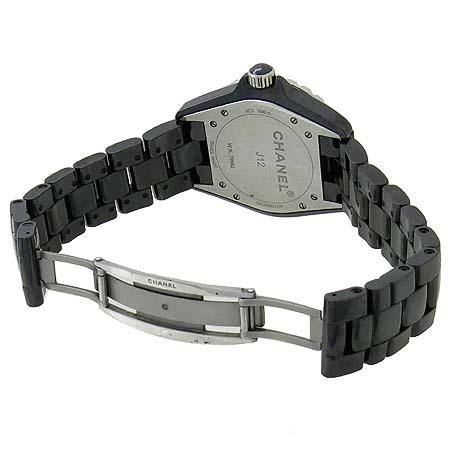 Chanel(샤넬) H1626 J12 블랙 세라믹 12포인트 다이아 38mm 남성용 시계  [인천점] 이미지4 - 고이비토 중고명품