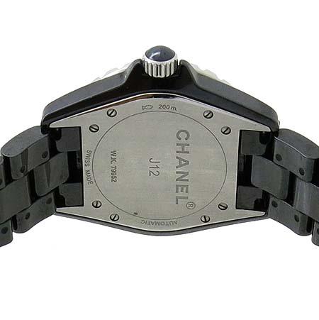 Chanel(샤넬) H1626 J12 블랙 세라믹 12포인트 다이아 38mm 남성용 시계  [인천점] 이미지5 - 고이비토 중고명품