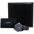 Chanel(샤넬) H1626 J12 블랙 세라믹 12포인트 다이아 38mm 남성용 시계  [인천점]