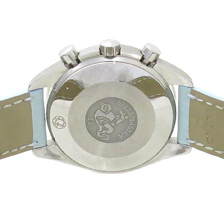 Omega(오메가) 3834.71.34 스피드마스터 크로노그래프 오토매틱 가죽 밴드 여성용 시계 [강남본점] 이미지5 - 고이비토 중고명품