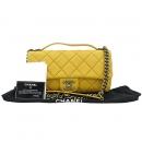 Chanel(샤넬) 빈티치 COCO 로고 장식 옐로우 CALFSKIN(카프스킨) 퀼팅 2WAY [강남본점]