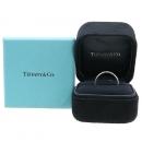 Tiffany(티파니) PT950 (플레티늄) 노트 3포인트 다이아 반지 - 10 호 [강남본점]