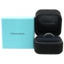 Tiffany(티파니) PT950 하프 서클 라운드 17포인트 다이아 셀라브레이션 링 반지- 9호 [강남본점]