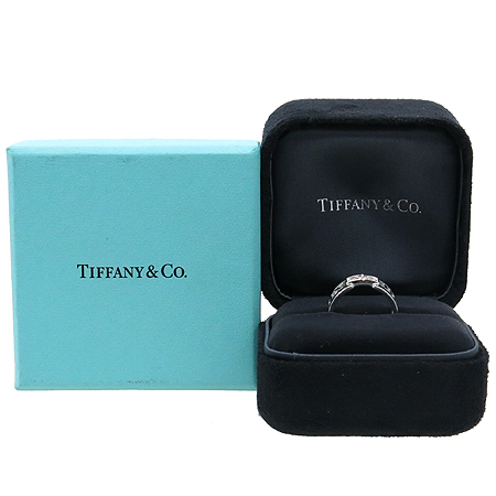 Tiffany(티파니) 18K(750) 화이트 골드 3포인트 다이아 오픈 아틀라스 반지-11호 [대구반월당본점]