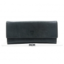 MCM(엠씨엠) MYL3AXD05EC001 그레이 레더 스냅 장지갑 + 카드동전파우치 [강남본점]