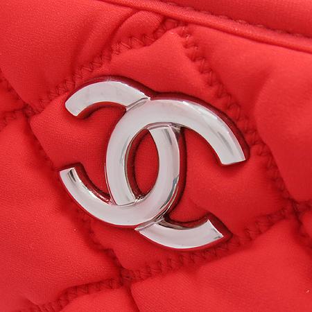 Chanel(샤넬) A46168Y05959 61347 레드패브릭 퀼팅 은장로고 체인 숄더백 [강남본점] 이미지4 - 고이비토 중고명품