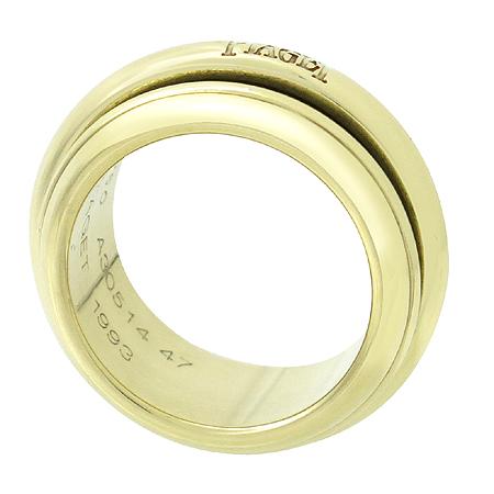 PIAGET(피아제) 18K 옐로우 로고 각인 무빙 반지 - 7.5호 [강남본점] 이미지2 - 고이비토 중고명품