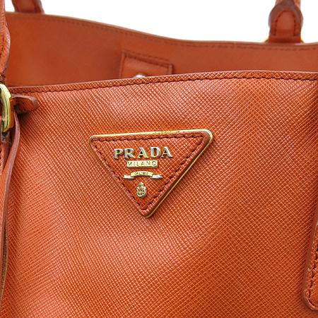 Prada(프라다) BN1844 SAFFIANO LUX 사피아노 럭스 오렌지 금장로고 토트백 [강남본점] 이미지3 - 고이비토 중고명품