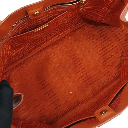 Prada(프라다) BN1844 SAFFIANO LUX 사피아노 럭스 오렌지 금장로고 토트백 [강남본점] 이미지5 - 고이비토 중고명품