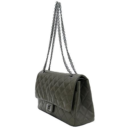Chanel(샤넬) 소프트카프 스킨 그레이 2.55 은장로고 체인 숄더백 [대구반월당본점] 이미지3 - 고이비토 중고명품