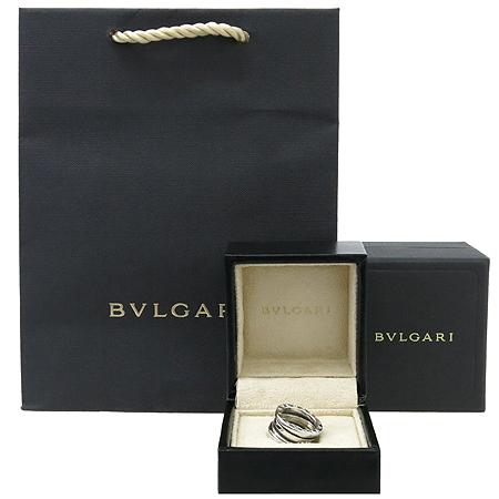 Bvlgari(불가리) AN191024 18K 화이트 골드 B-ZERO 1(비제로 원) 3링 반지 - 7호 [강남본점]