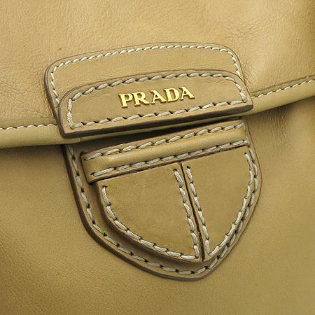 Prada(프라다) BN2135 측면 금장 로고 CITY CLAF NATURALE 컬러 숄더백  [대구반월당본점] 이미지4 - 고이비토 중고명품