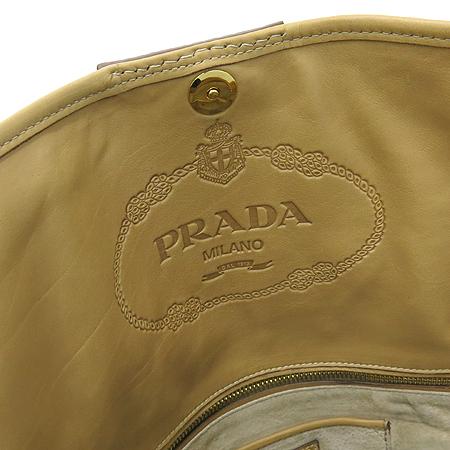 Prada(프라다) BN2135 측면 금장 로고 CITY CLAF NATURALE 컬러 숄더백  [대구반월당본점] 이미지5 - 고이비토 중고명품
