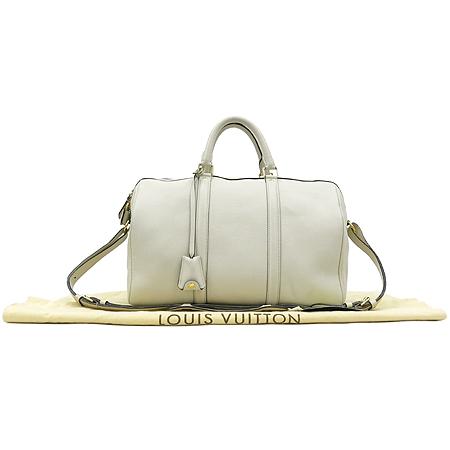 Louis Vuitton(루이비통) M93457 SC BAG CALF CREAM 아이보리 크림 레더 SOFIA 소피아 MM 보스톤 토트백 + 숄더 스트랩 2WAY [강남본점]