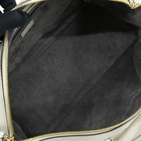 Louis Vuitton(루이비통) M93457 SC BAG CALF CREAM 아이보리 크림 레더 SOFIA 소피아 MM 보스톤 토트백 + 숄더 스트랩 2WAY [강남본점] 이미지6 - 고이비토 중고명품