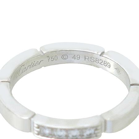 Cartier(까르띠에) B40804 18K(750) 화이트 골드 마이용 팬더 링 4포인트 다이아 웨딩 반지 - 9호 [강남본점] 이미지4 - 고이비토 중고명품